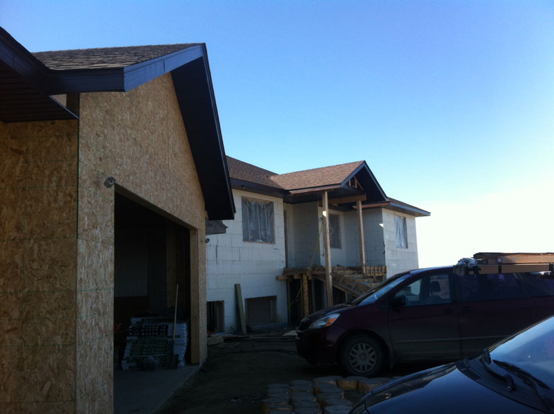 Front of House – New Soffits & Fascia